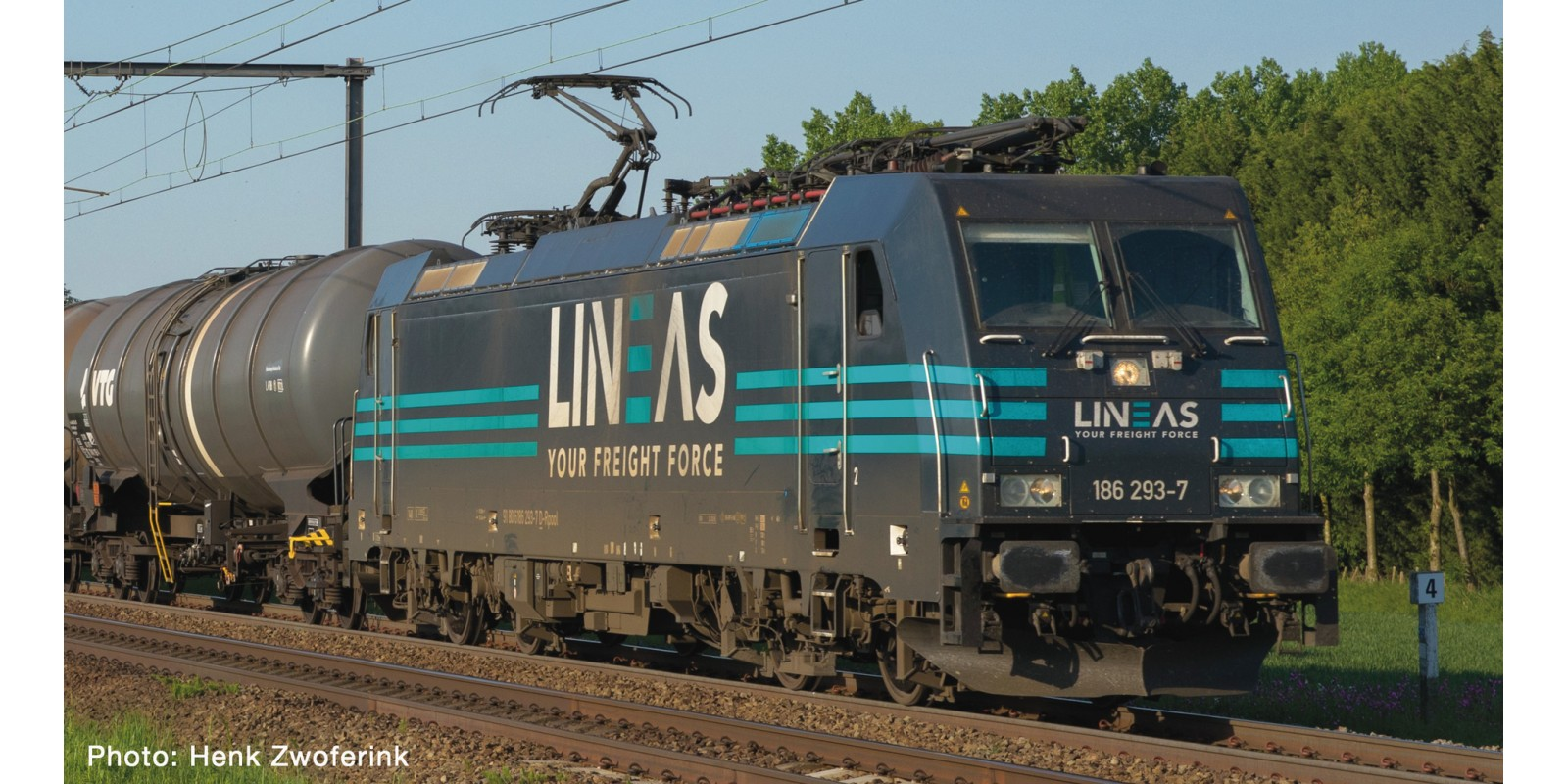 RO73214 E-Lok BR 186 Lineas