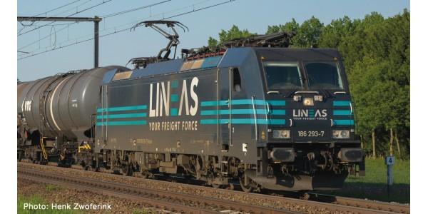 RO73215 E-Lok BR 186 Lineas Snd.