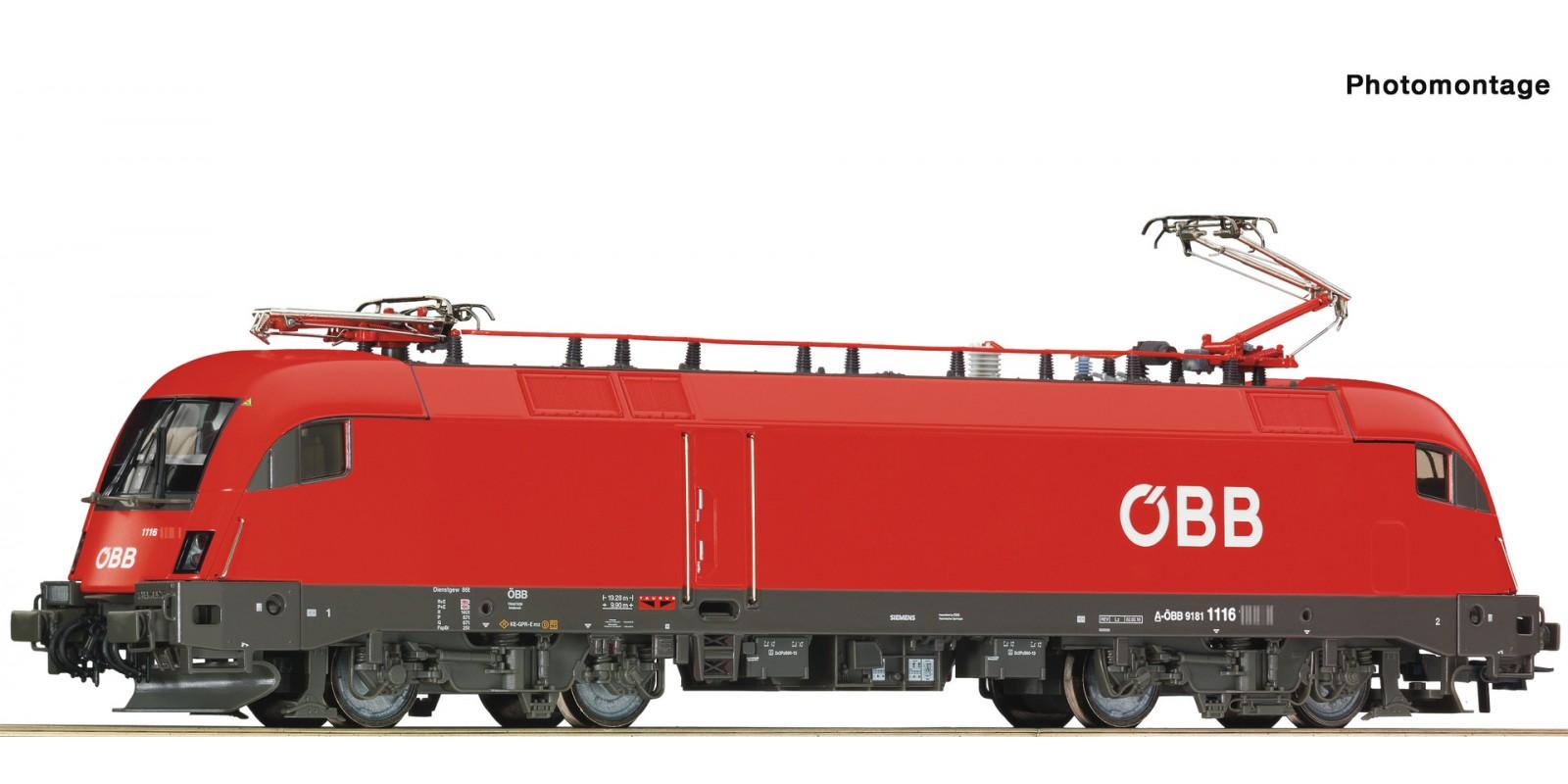 RO73246 E-Lok Rh 1116 ÖBB Snd.
