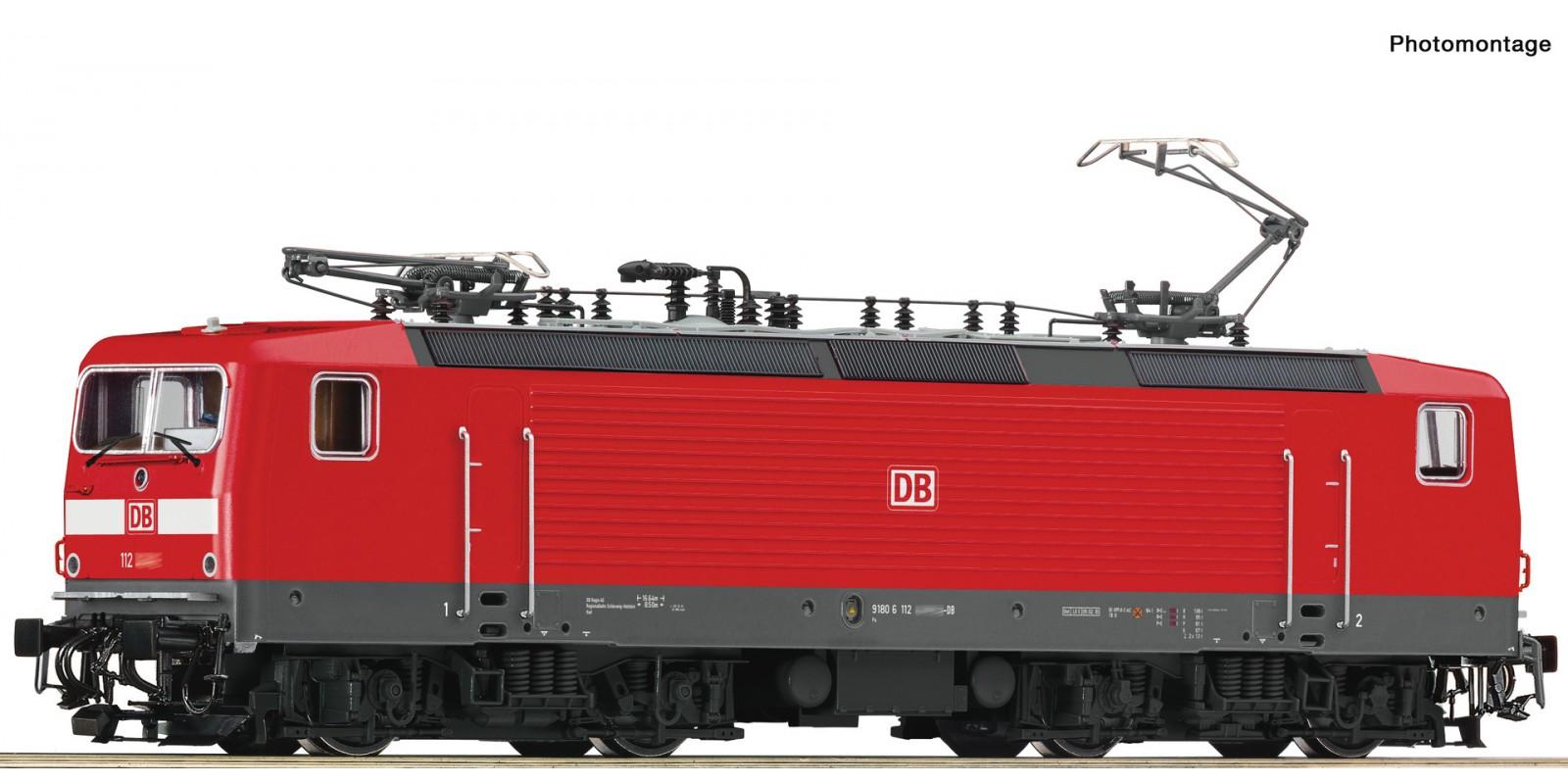 RO73327 E-Lok BR 112 DB AG Snd.