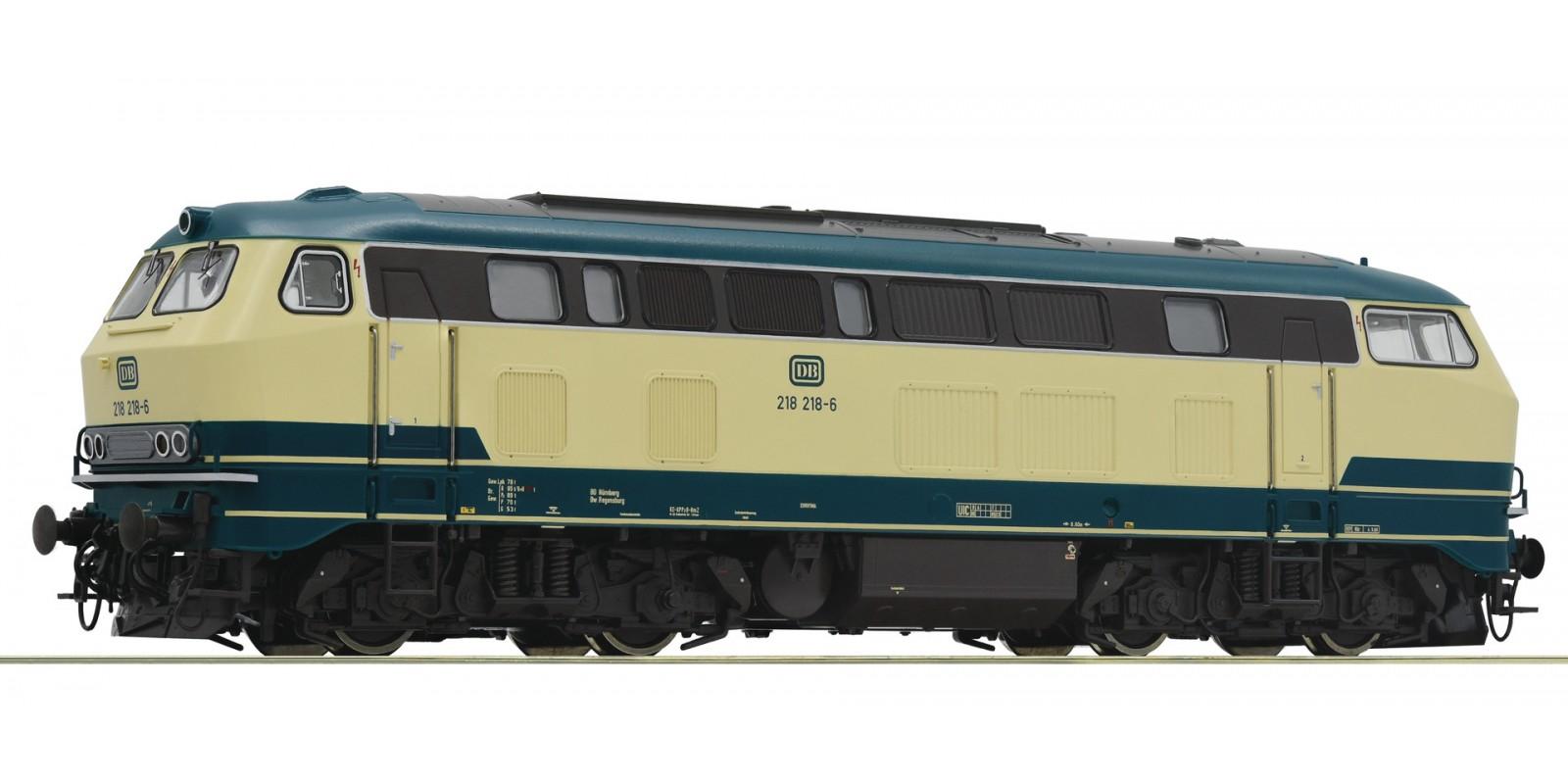 RO73727 Diesel BR 218 oz-bl Snd.