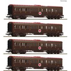 "RO74093 4 piece set ""Hospital train"", FS"