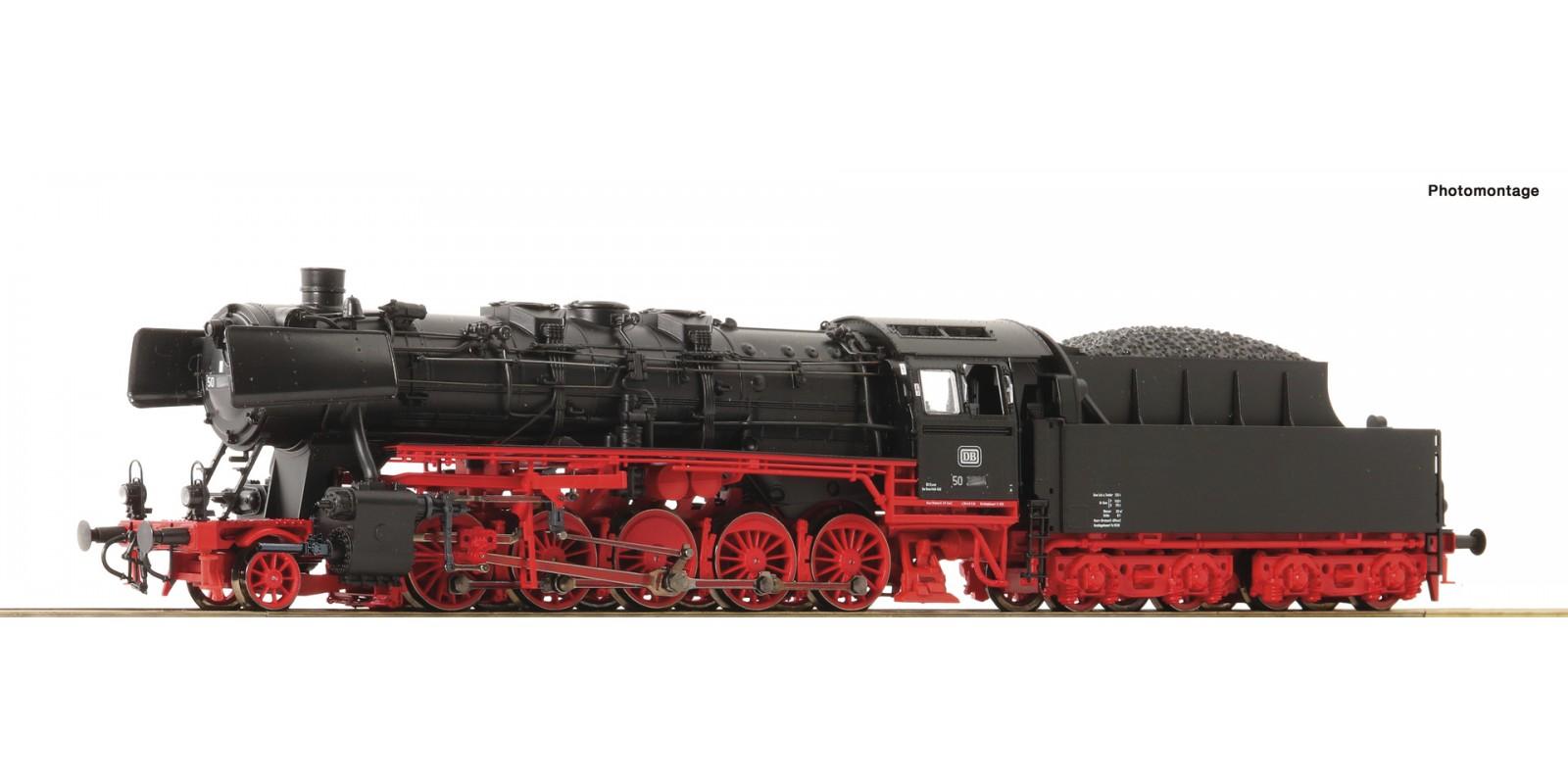 RO78256 Dampflok BR 50 DB AC Snd.