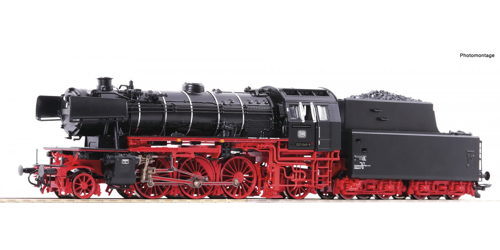 RO70250 Steam locomotive 023 040-9
