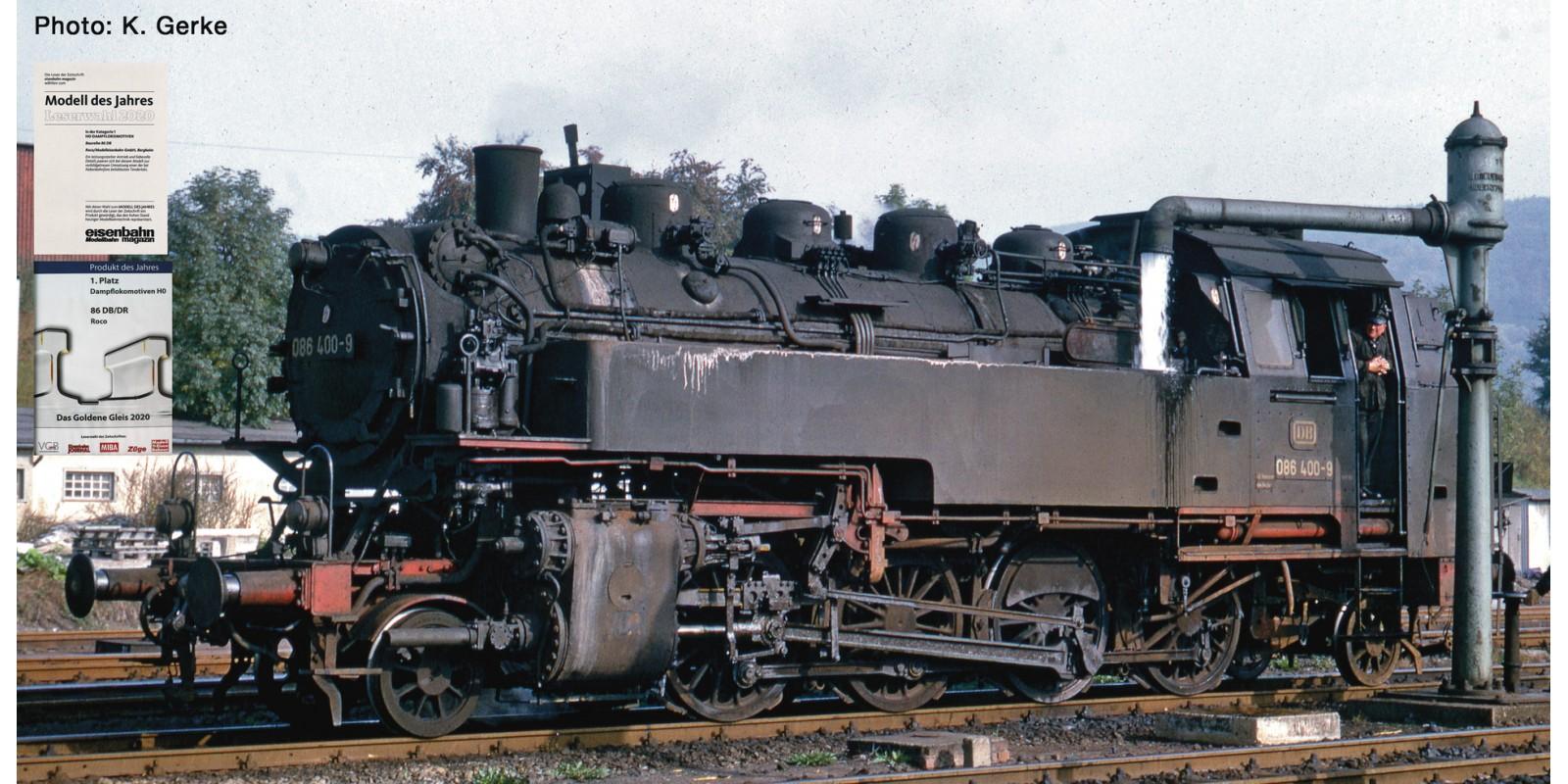 RO70317 Steam locomotive 086 400-9