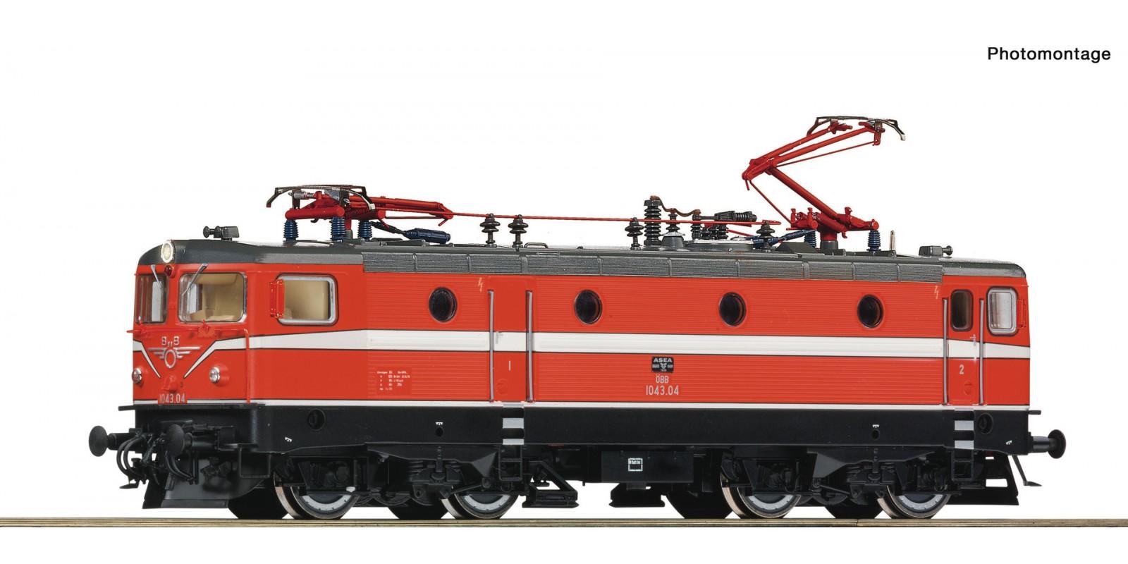 RO70453 Electric locomotive 1043.04