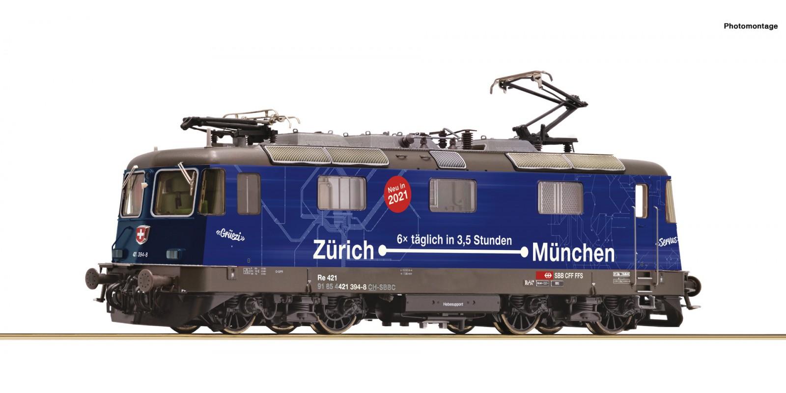 RO71408 Electric locomotive 421 394-8