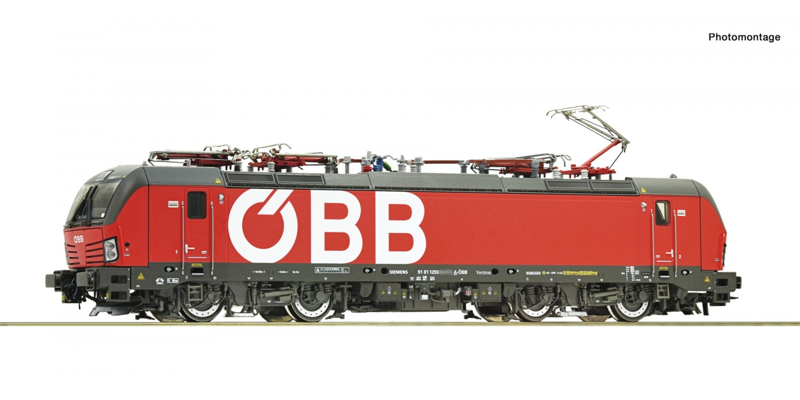 RO71958 Electric locomotive class 1293