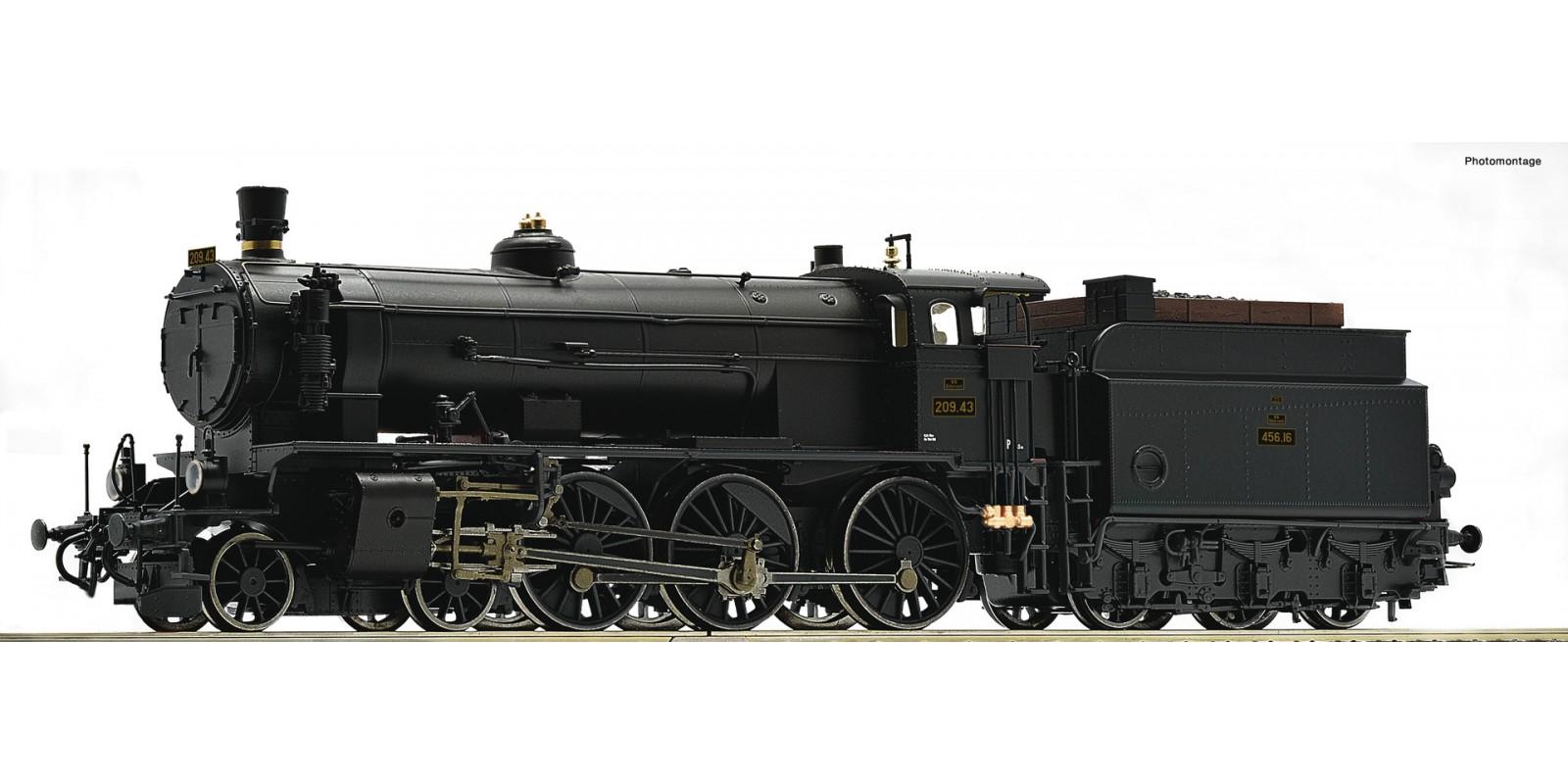 RO72109 Steam locomotive 209.43