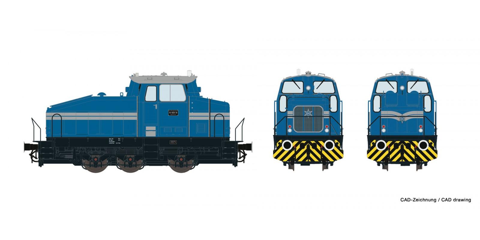 RO72179 Diesel locomotive DHG 500