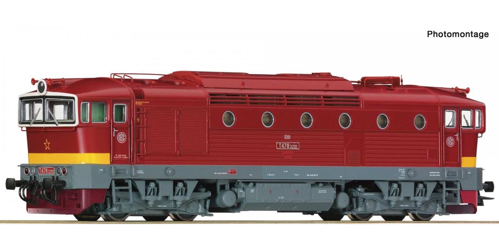 RO72947 Diesel locomotive class T 478.3