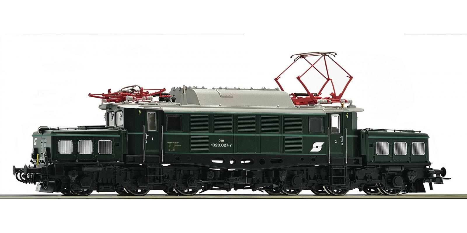 RO73127 Electric locomotive 1020.027-7