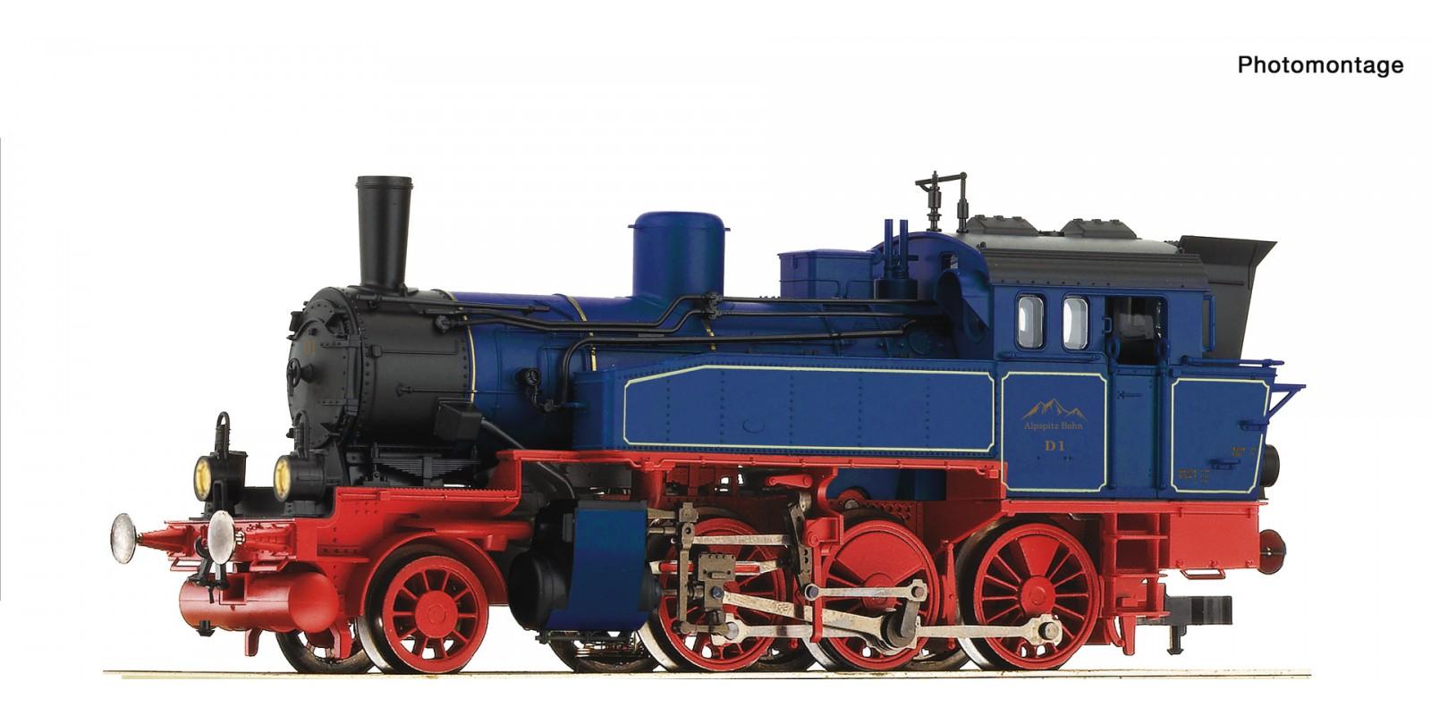 RO73159 Cogwheel steam locomotive