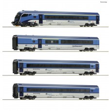 "RO74065 4 piece set: ""Railjet"""