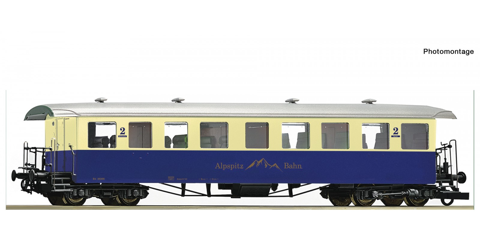 RO74507 Cogwheel passenger coach