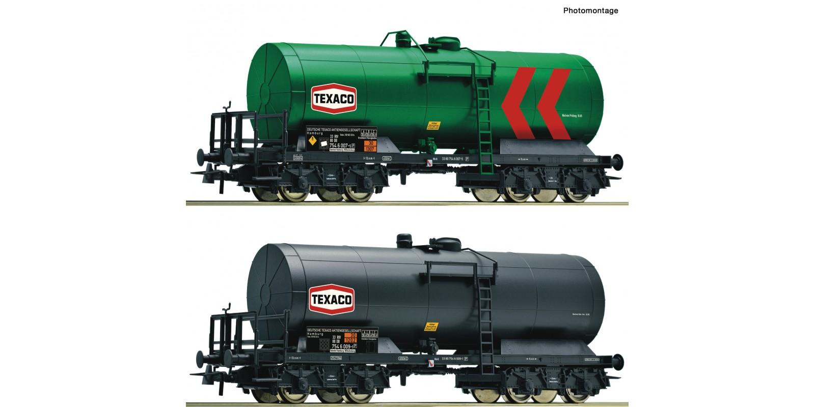 RO76013 2 piece set: Tank wagons
