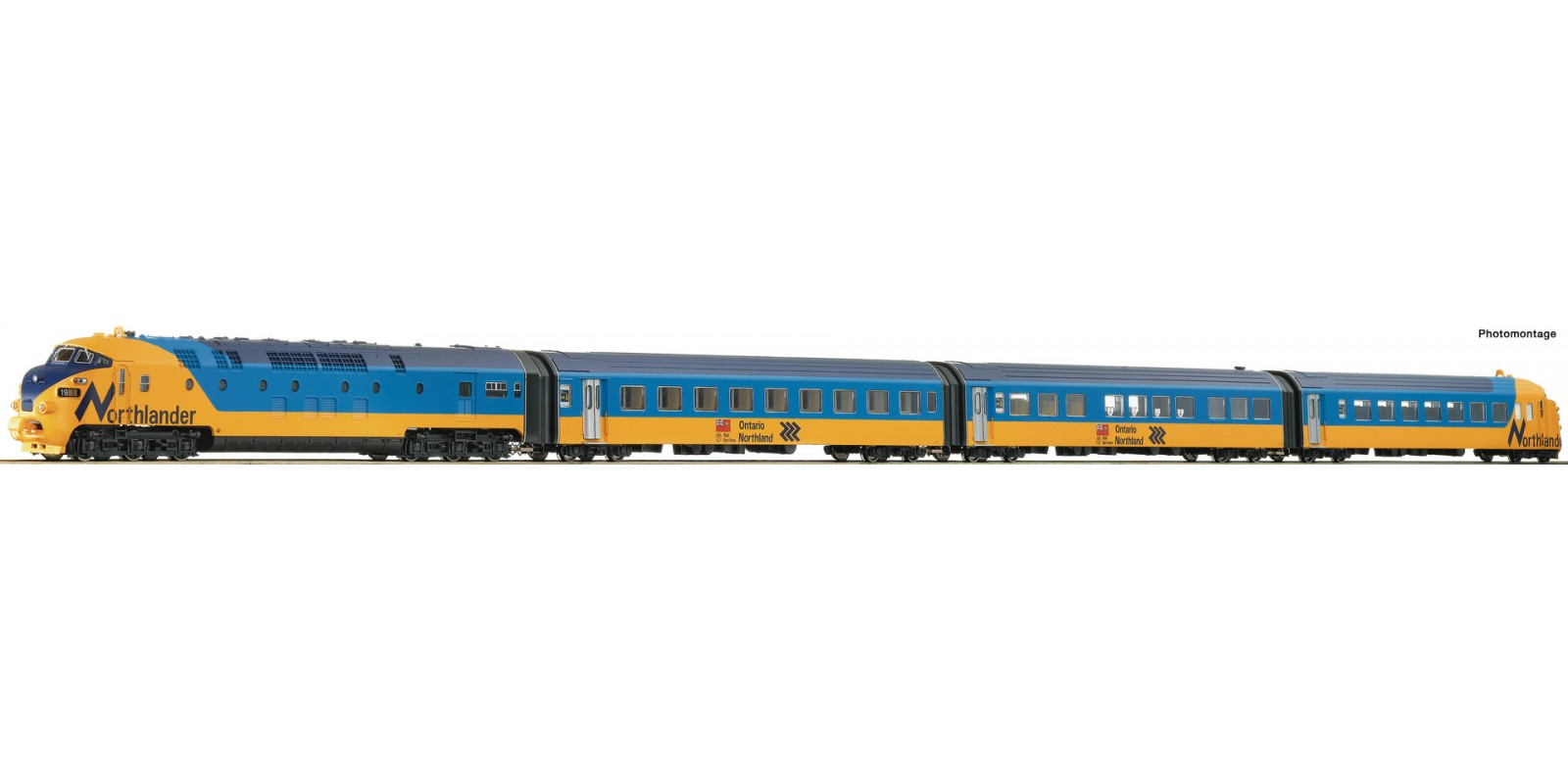 """RO78067 Diesel multiple unit """"Northlander"""""""