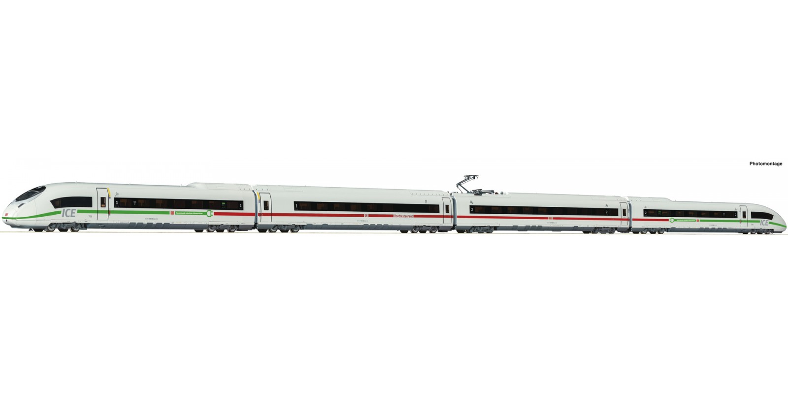 "RO78095 4 piece electric multiple unit 407 008-2 ""Velaro"""