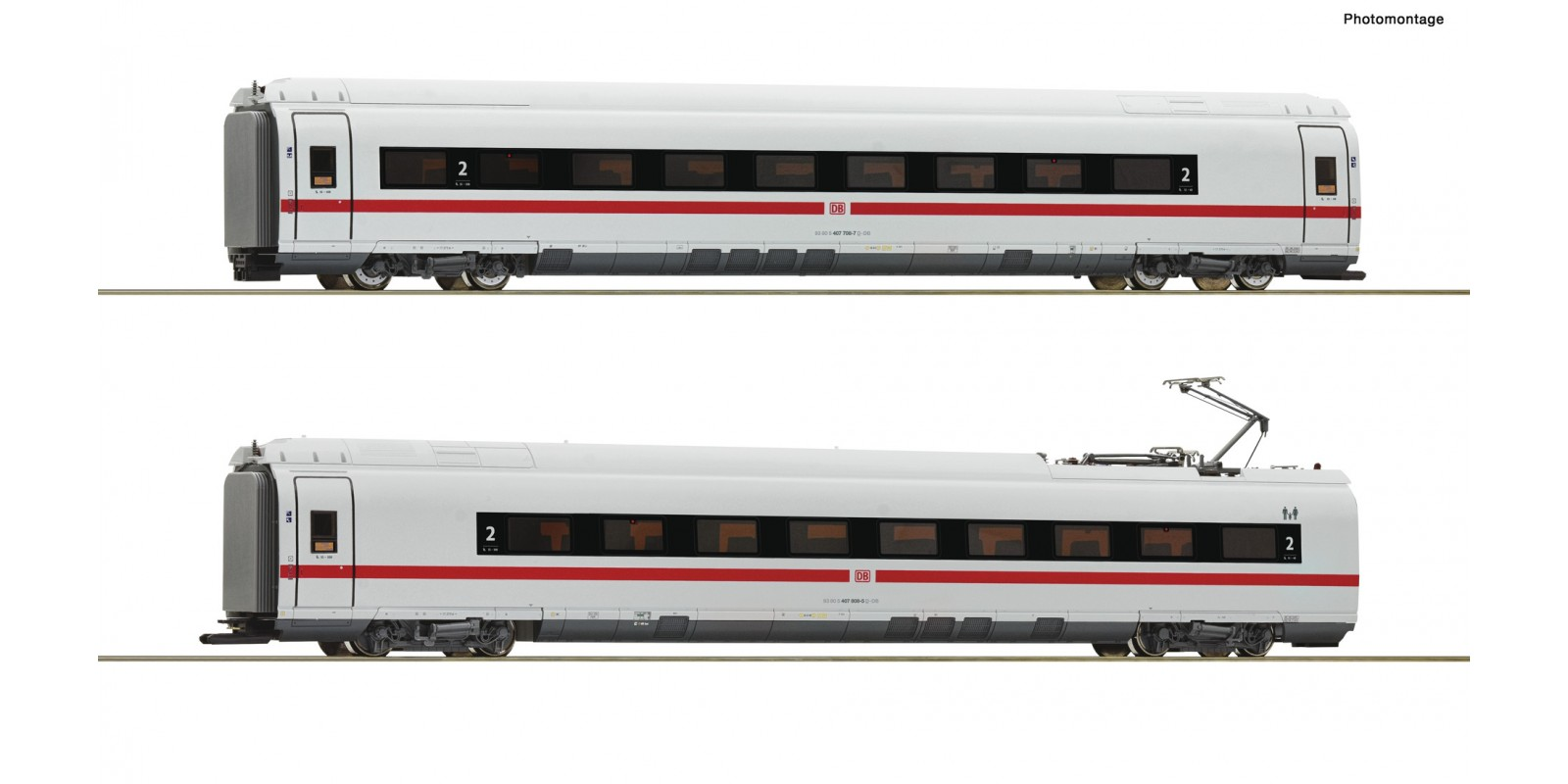 RO78097 2 piece set: Intermediate coaches class 407