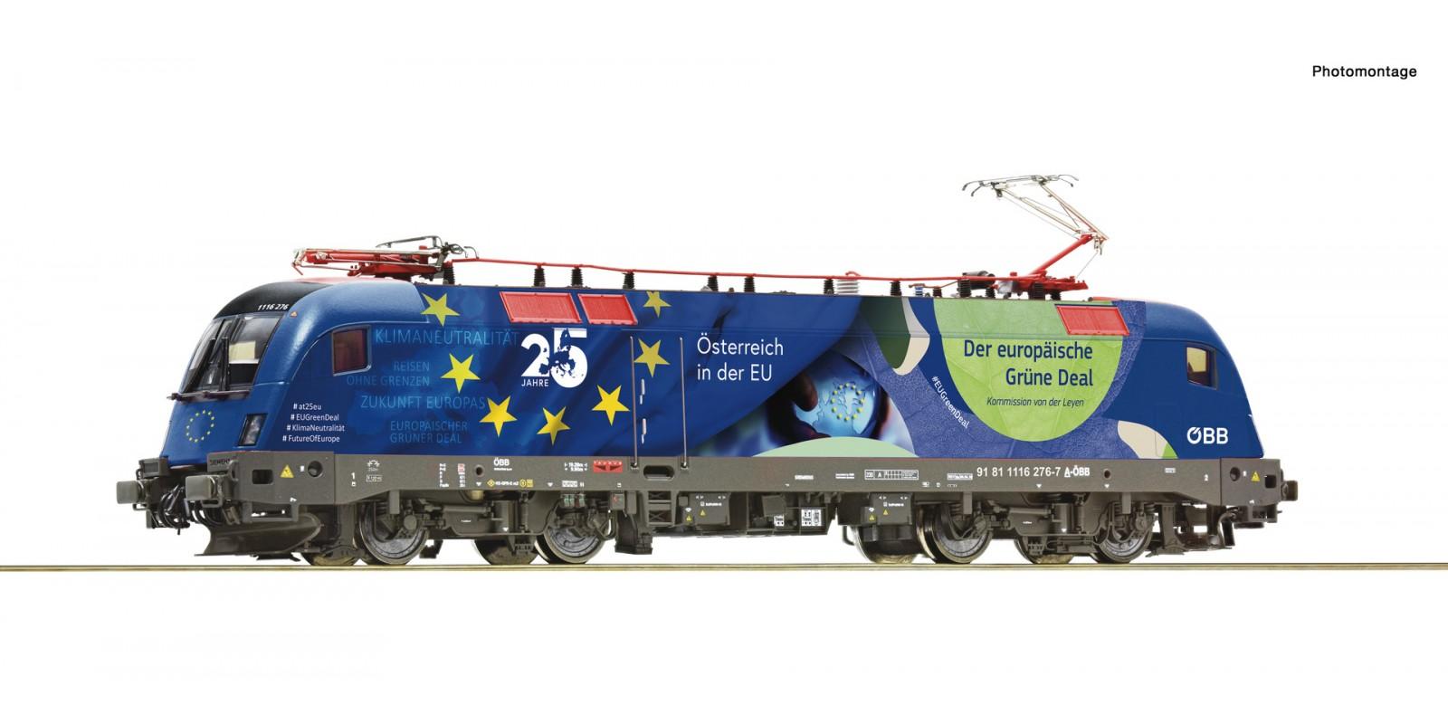 "RO78502 Electric locomotive 1116 276-7 ""25 years of Austria in the EU"""