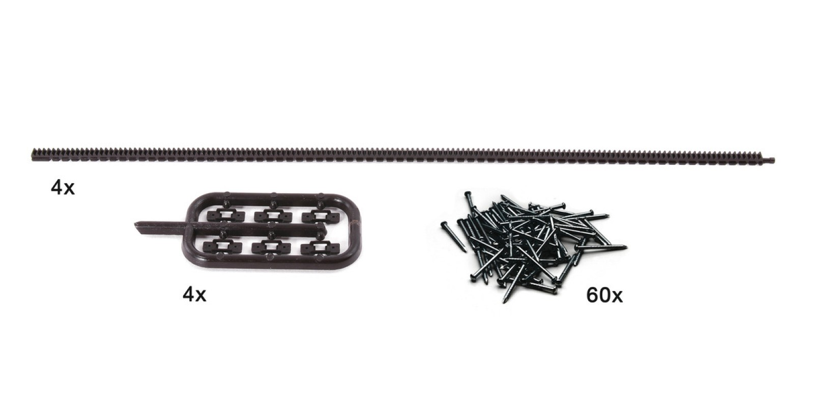 RO42602 - Flexible toothed racks for ROCO LINE tracks