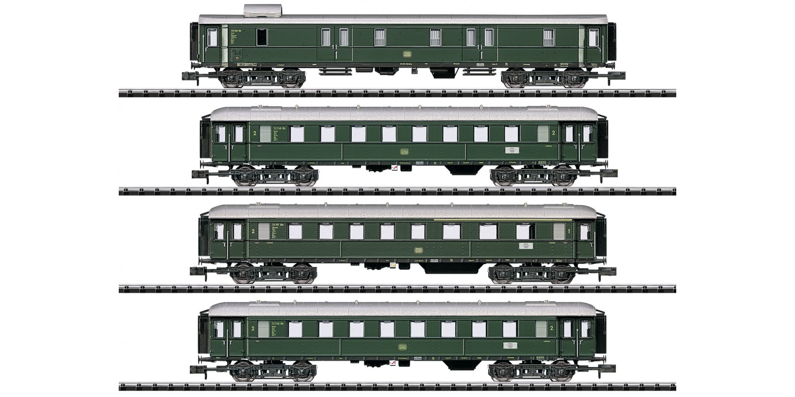 T15015 Limited Stop Fast Train Car Set