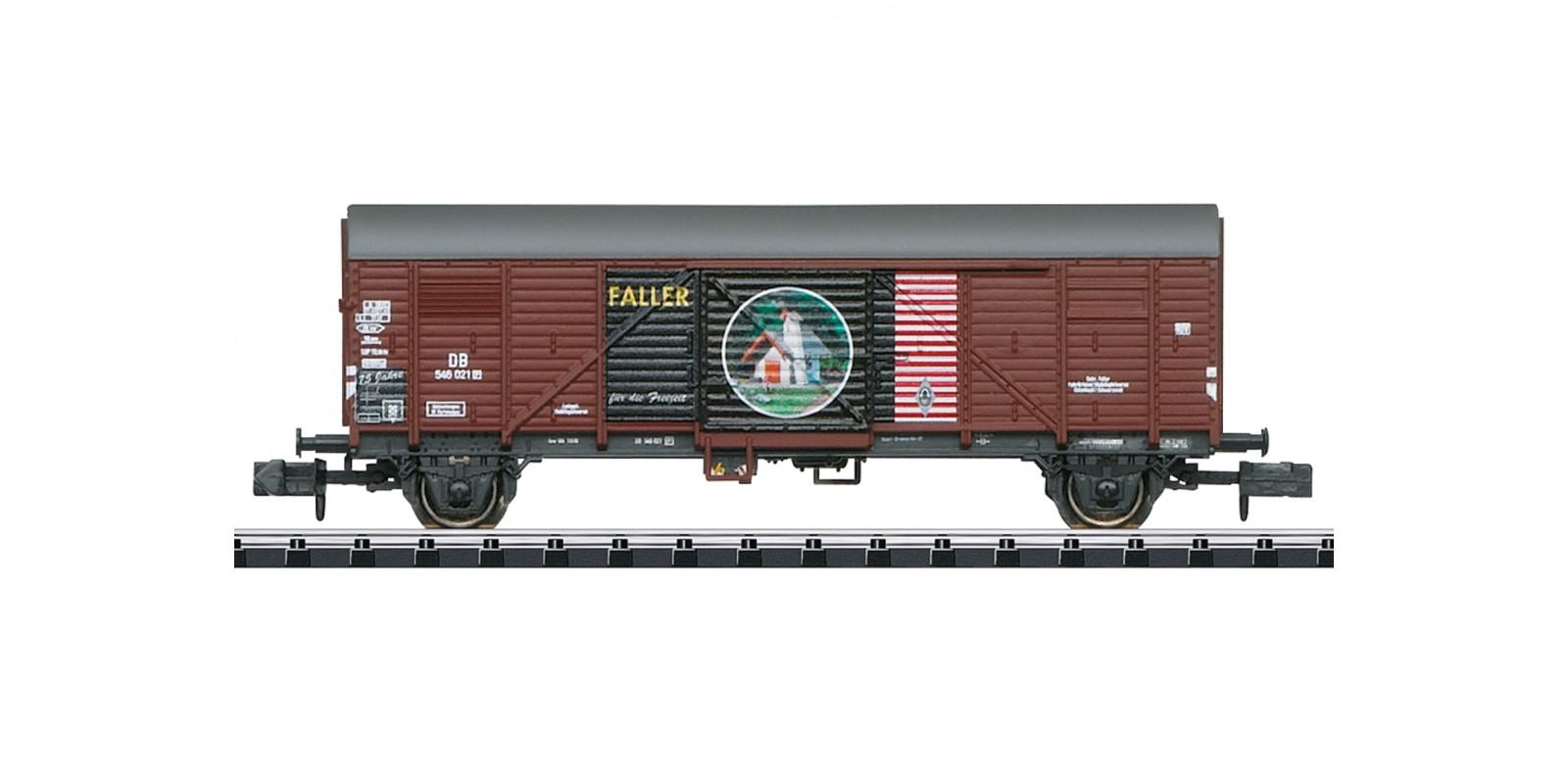 """T18021 Gedeckter Güterwagen """"75 Jahre Faller"""""""