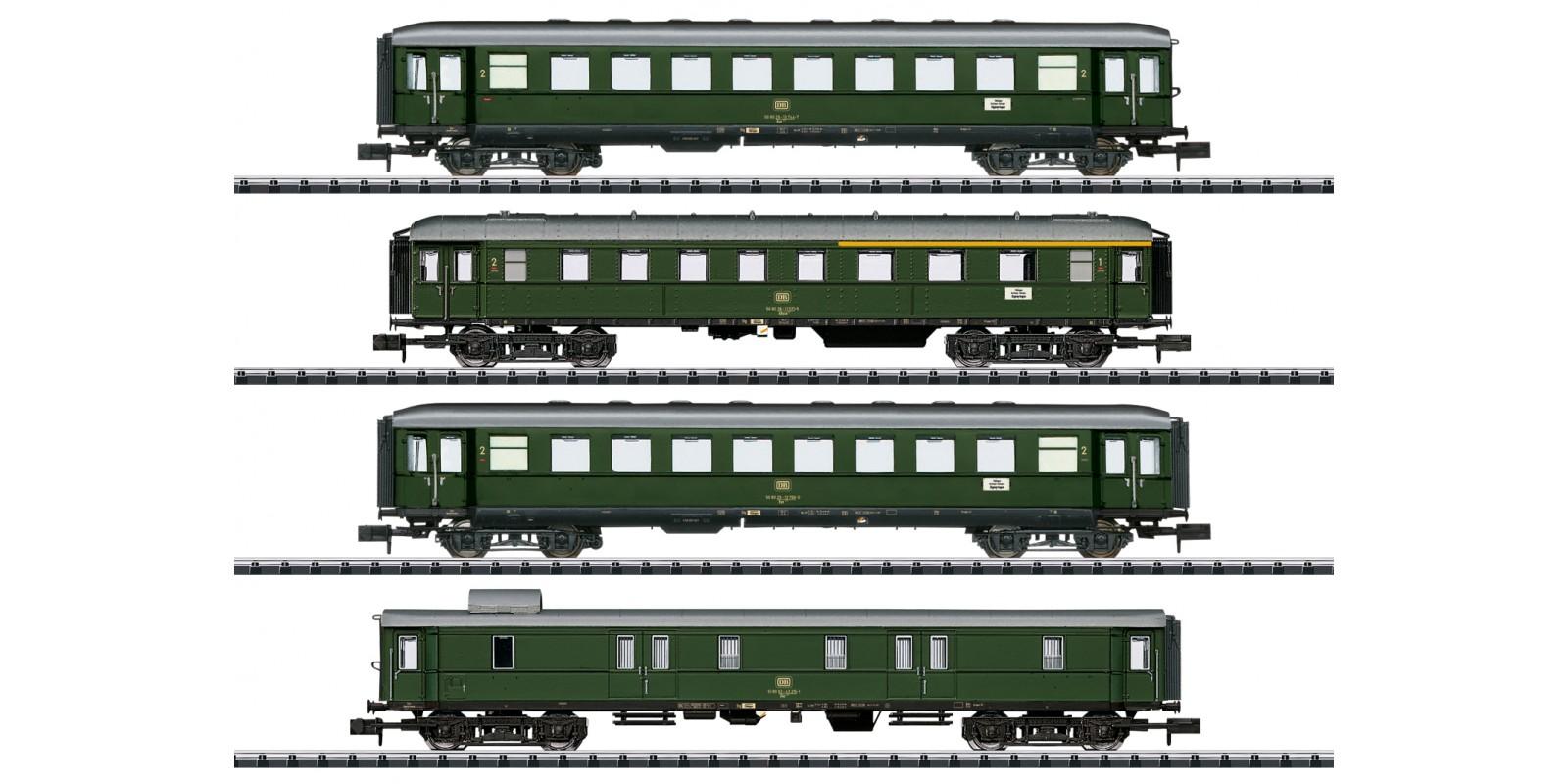 T18709 Personenwagen-Set Nahverkehr
