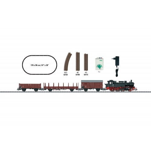 """T21530 """"Era III Freight Train"""" Starter Set. 230 Volts"""