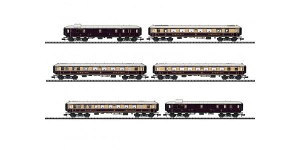 "T15539 ""Rheingold"" Express Train Passenger Car Set"