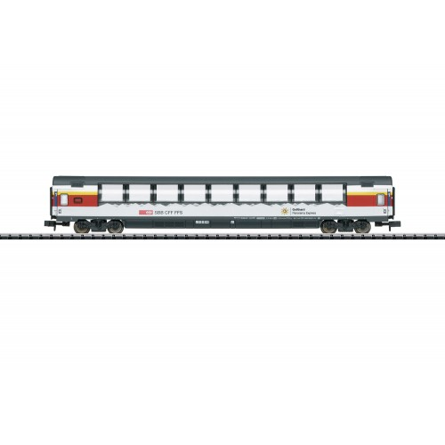 T15674 Gotthard Panorama Express (GoPEx) Passenger Car Set.