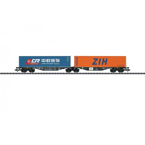 T24802 Type Sggrss Double Container Transport Car