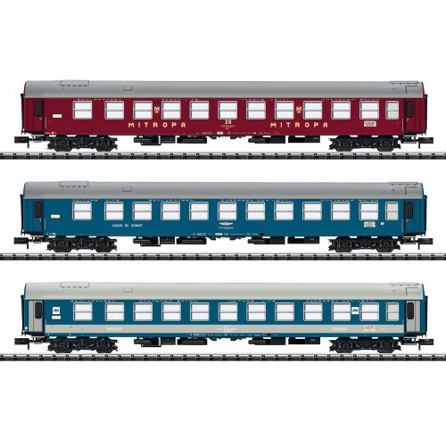 "T15996 ""Baltic-Orient Express"" Express Train Passenger Car Set"