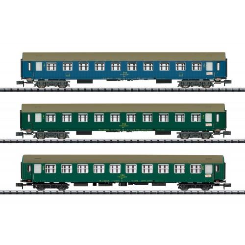 """T15997 """"Baltic-Orient Express"""" Express Train Passenger Car Set"""