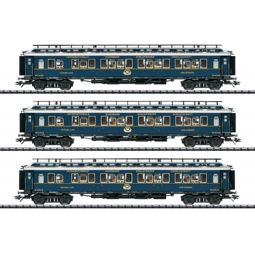 """T23220 """"Simplon Orient Express"""" Express Train Passenger Car Set 2"""
