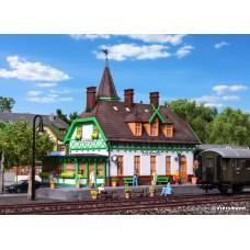 ΚΙ39509 H0 Station Burg in Spreewald incl. house illumination starter set