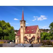 VO43769 H0 Village church Ditzingen