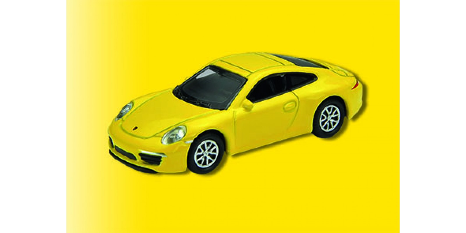 Vo41612 H0 Porsche 911 Carrera S, yellow, finished model