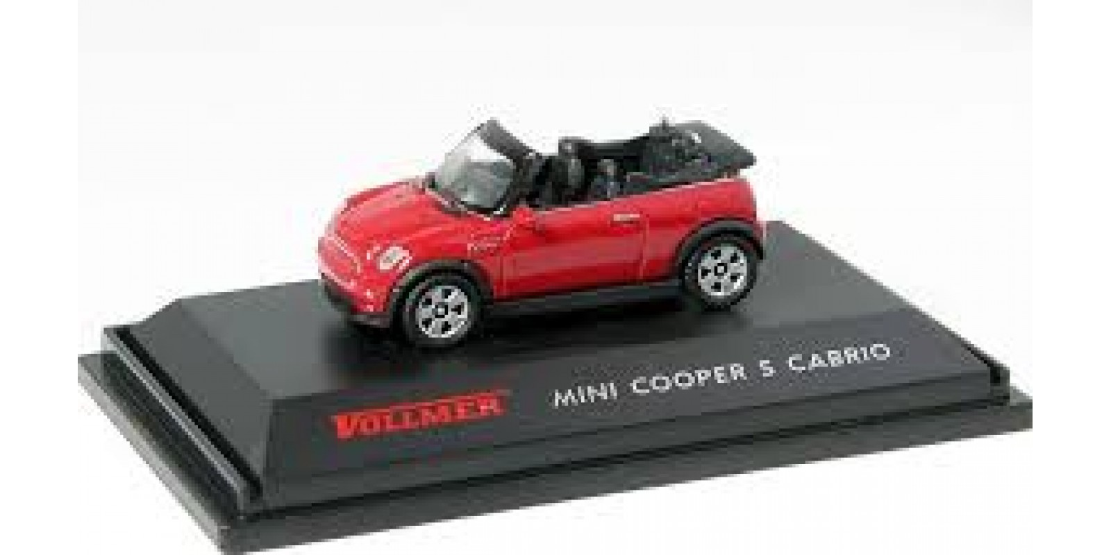 Vo41623 Mini Convertible for gauge  H0 - color: red