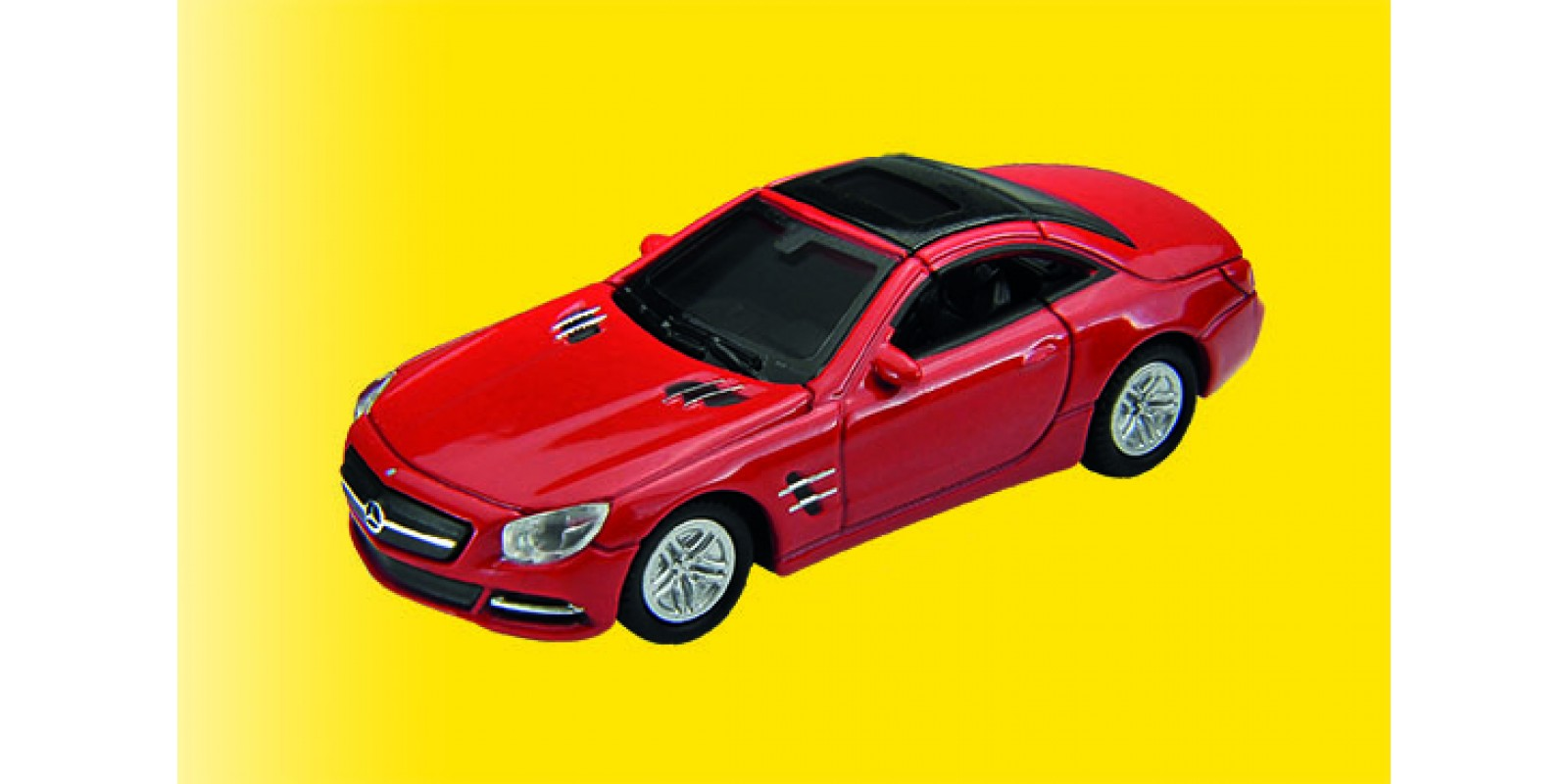 Vo41640 H0 Mercedes-Benz 500 SL 2012, red, finished model