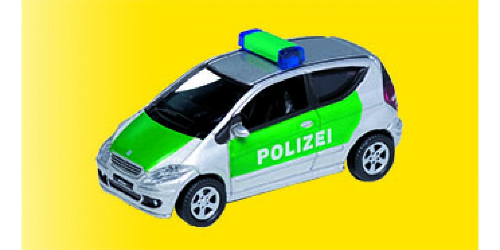 Vo41606 Mercedes-Benz A200 Polizei, green/silver, die cast model