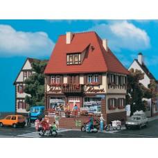 VOLLMER  43674 H0 Butchery Bahnhofstraße 19