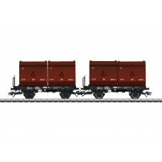 "T24175 ""2 Tubs"" Coking Coal Tub Transport Car Set"